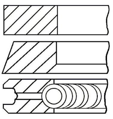 Поршневые кольца фольксваген транспортер т4 напольный ленточный конвейер